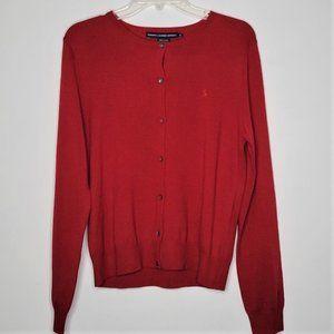 Ralph Lauren Sport 100% Merino Wool Cardigan Sweater